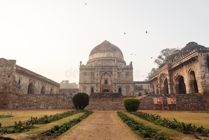 Jardines de Lodi en Delhi, la India imagenes de archivo