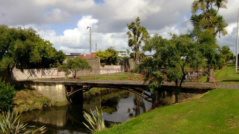 Jardines de Otepuni, Invercargill imagen de archivo libre de regalías