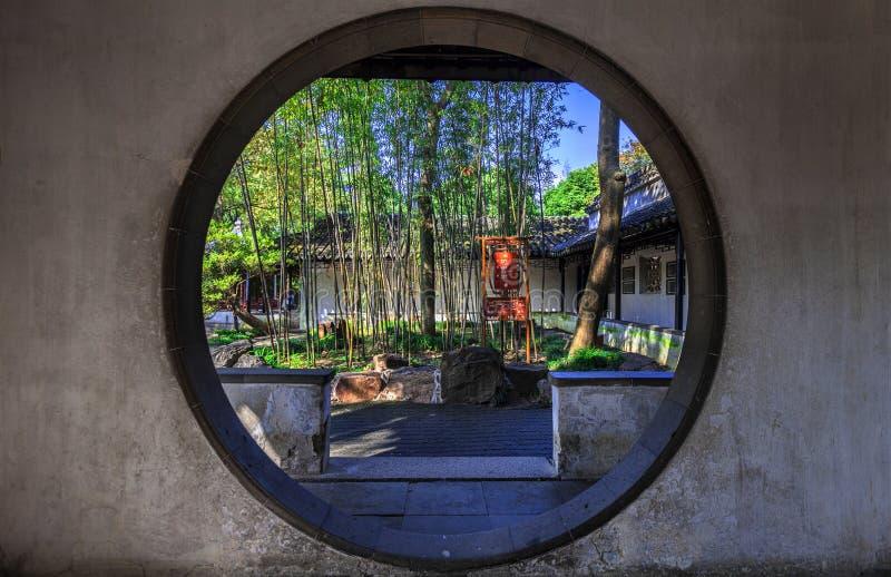 Jardines de Suzhou foto de archivo libre de regalías