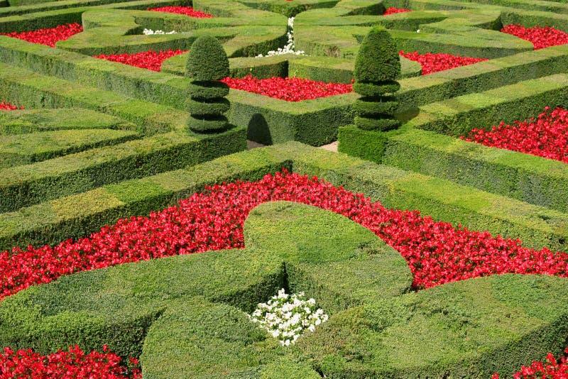 Jardines de Villandry, Francia fotografía de archivo