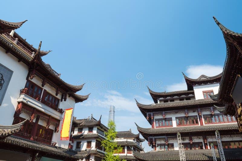 Jardines de Yu en Shangai imagen de archivo libre de regalías