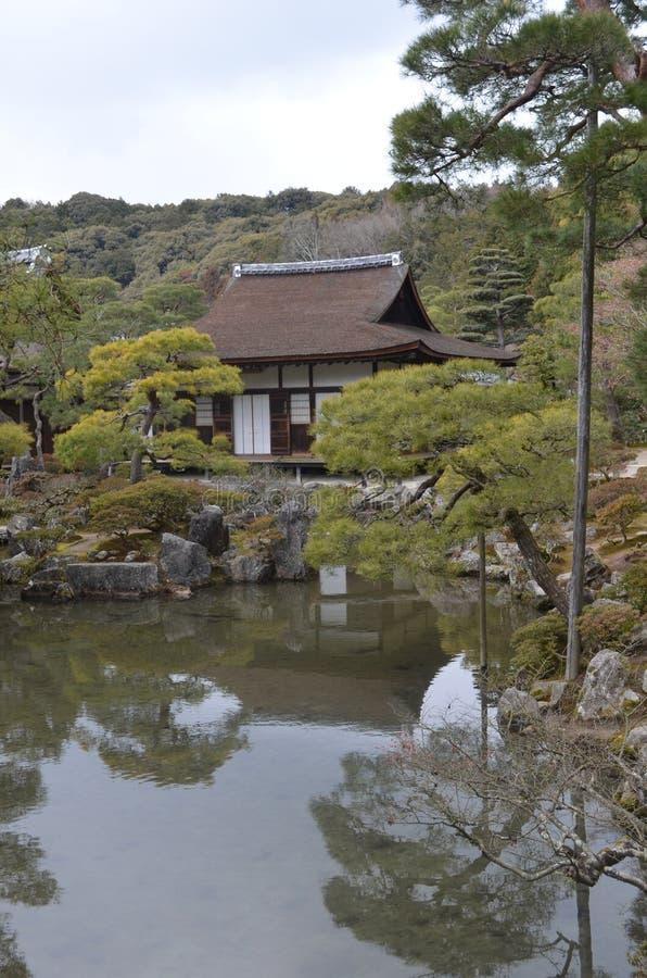 Jardines del emperador de Japón imágenes de archivo libres de regalías