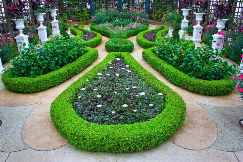 Jardines en el invernadero de Phipps imagen de archivo libre de regalías