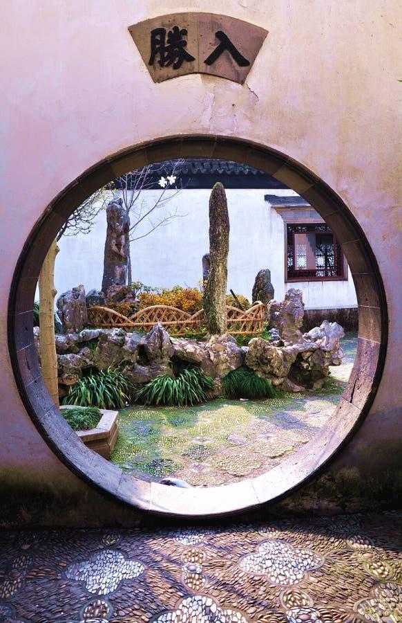 Jardines en Suzhou imagenes de archivo