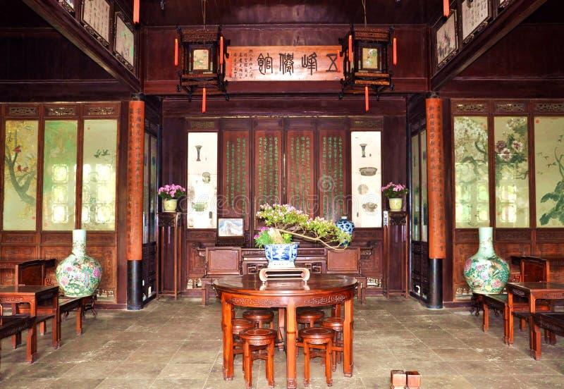 Jardines en Suzhou foto de archivo