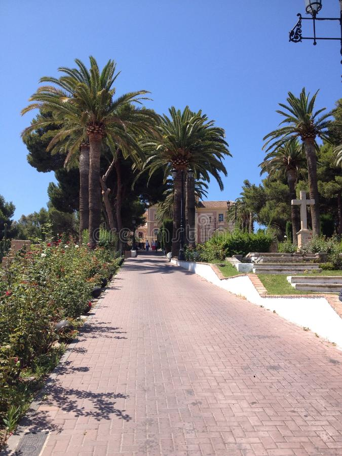 Jardines españoles imágenes de archivo libres de regalías