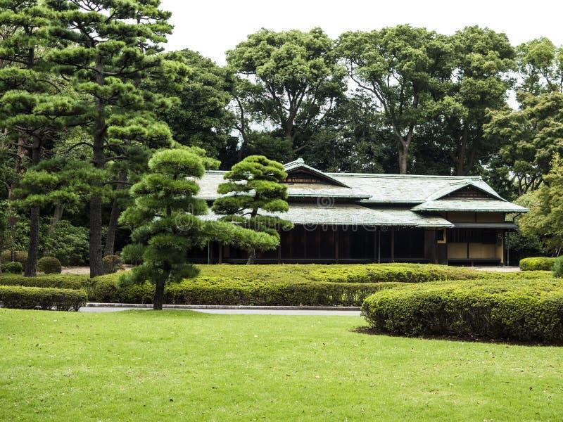 Jardines imperiales del palacio, Tokio foto de archivo