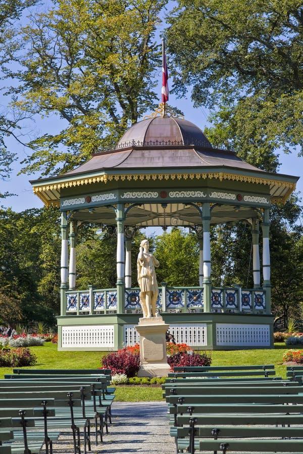 Jardines públicos de Halifax imagen de archivo