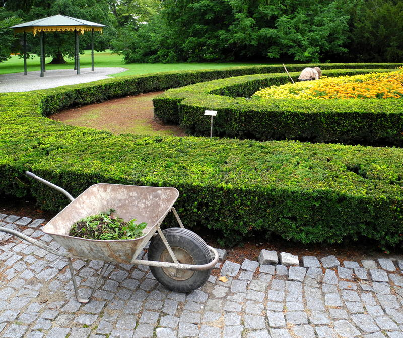 Jardinier photo libre de droits