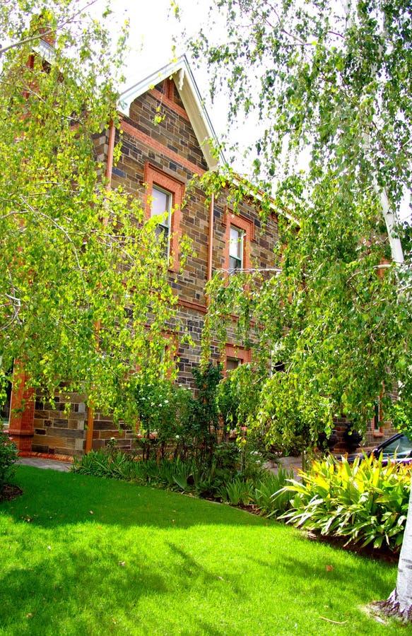 Jardins & arquitetura, Adelaide norte imagem de stock