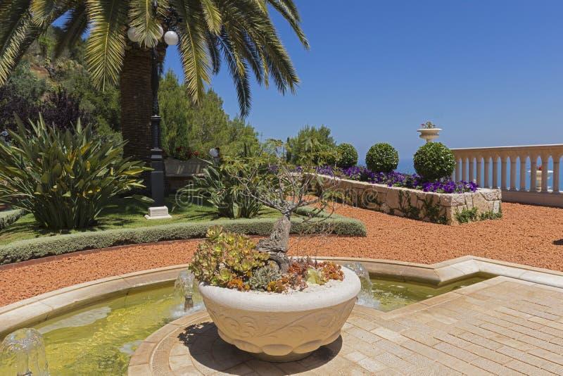 jardins Bah-ai fotografia de stock