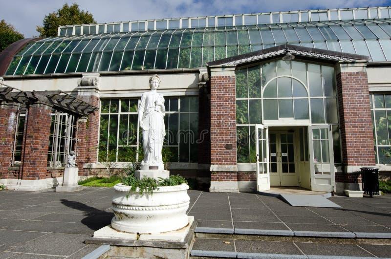 Jardins botânicos de Auckland imagem de stock royalty free