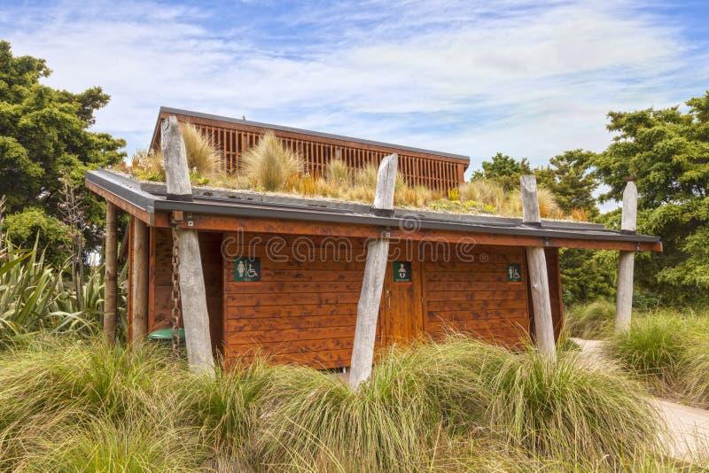 Jardins botânicos de Auckland do telhado vivo fotografia de stock