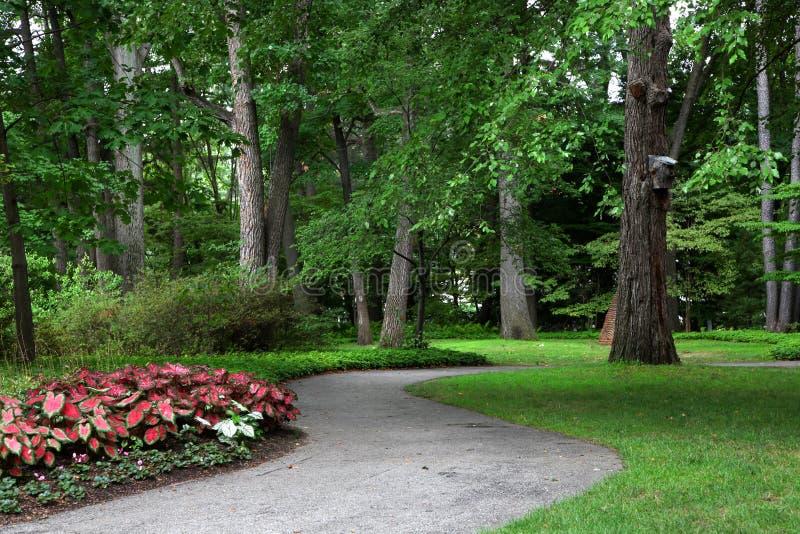 Jardins botânicos de Toledo imagem de stock