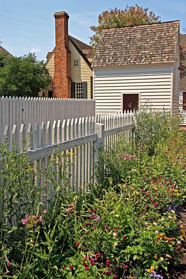 Jardins coloniaux photographie stock libre de droits