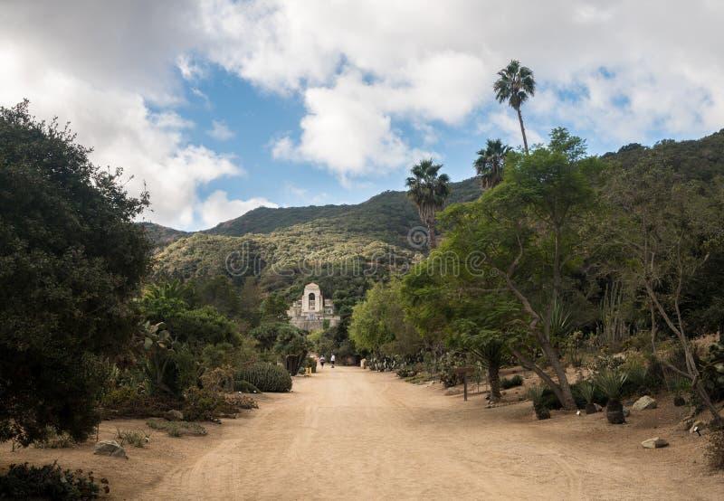 Jardins commémoratifs et botaniques de Wrigley sur Catalina Island photo libre de droits