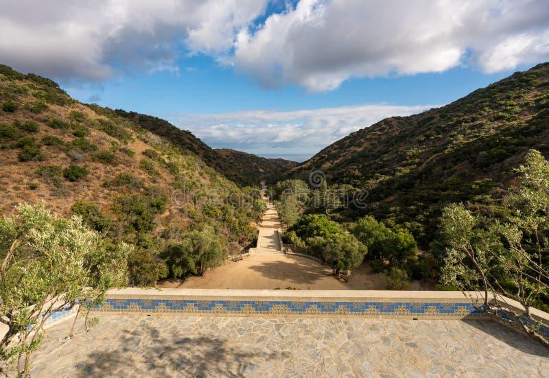 Jardins commémoratifs et botaniques de Wrigley sur Catalina Island image stock