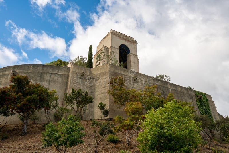 Jardins commémoratifs et botaniques de Wrigley sur Catalina Island photographie stock libre de droits