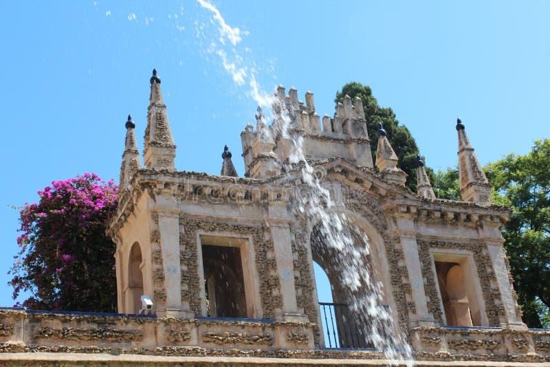 Jardins d'Alcazar en Séville Espagne photos stock