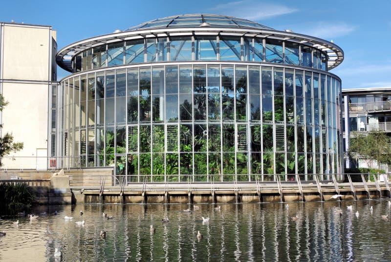 Jardins d'hiver à Sunderland photo libre de droits