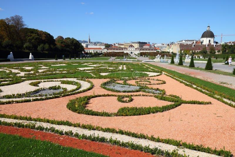 Jardins de belvédère photo libre de droits