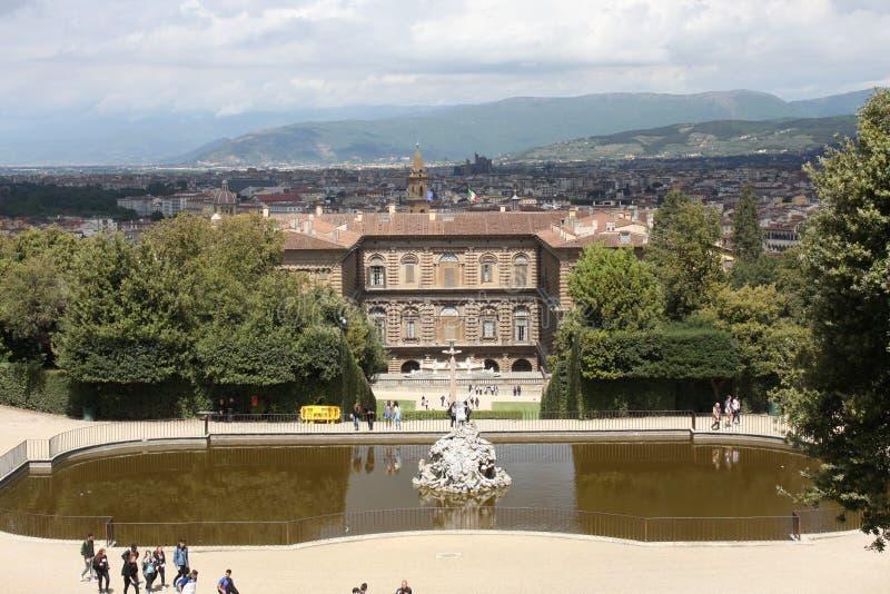 Jardins de Boboli - Florence, Toscane, Italie photographie stock libre de droits