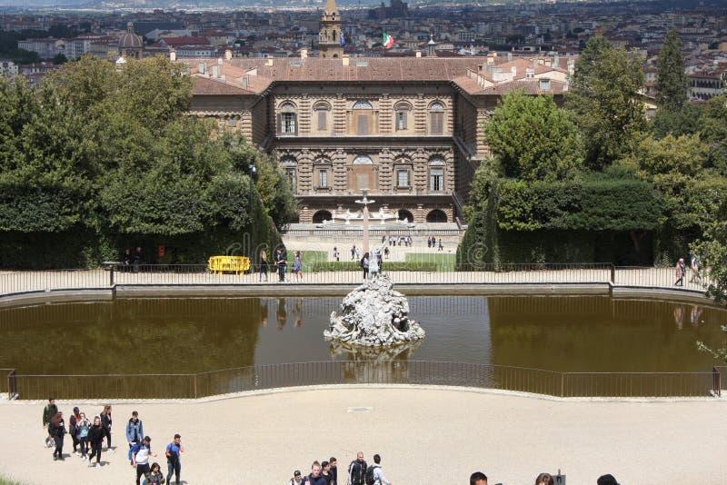 Jardins de Boboli - Florence, Toscane, Italie photos stock