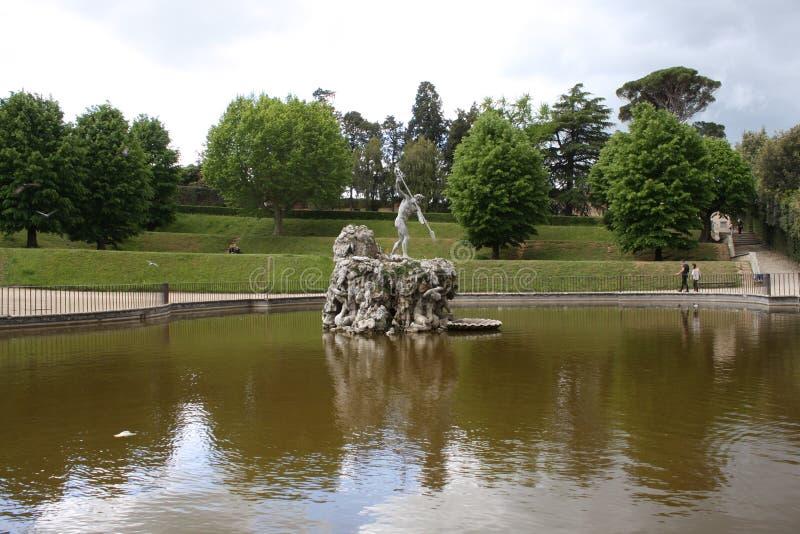 Jardins de Boboli - Florence, Toscane, Italie photo libre de droits