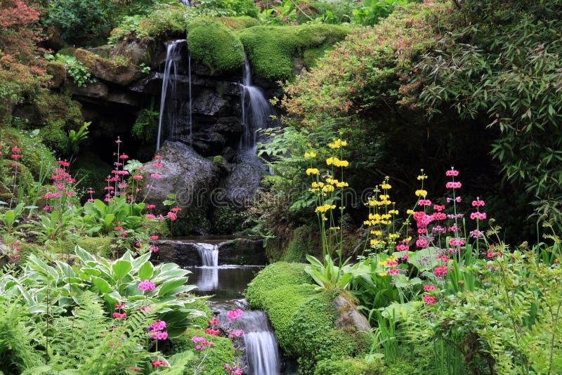 Jardins de Bodnant foto de stock