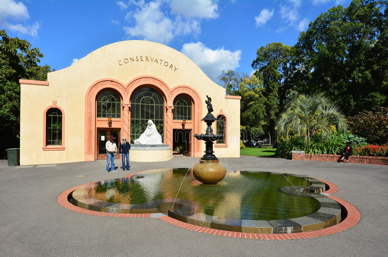 Jardins de Fitzroy - Melbourne fotos de stock royalty free