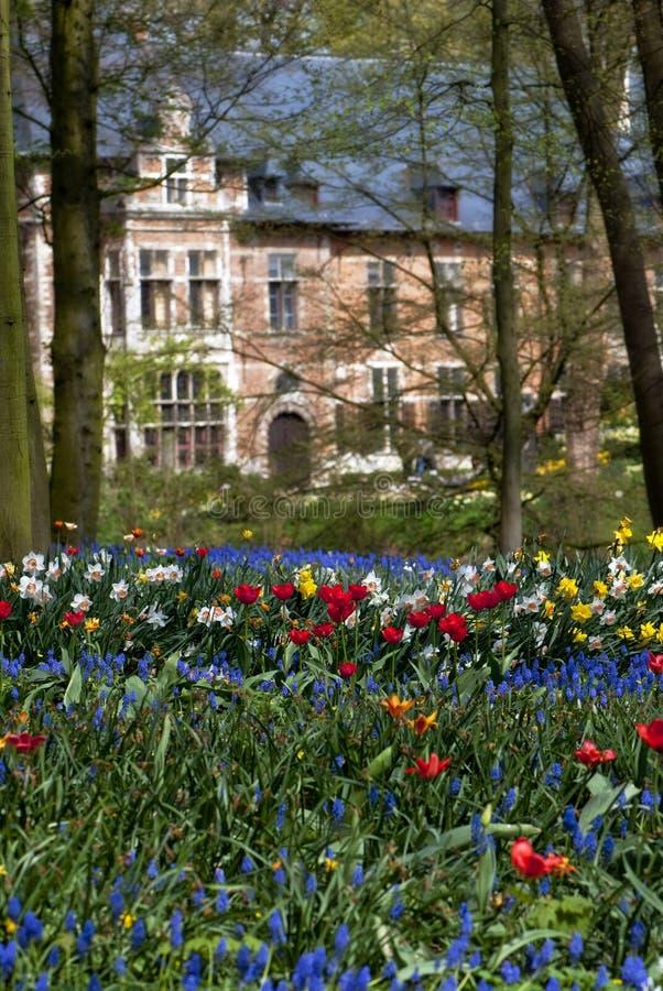 Jardins de Groot-Bijgaarden, Bélgica imagens de stock royalty free