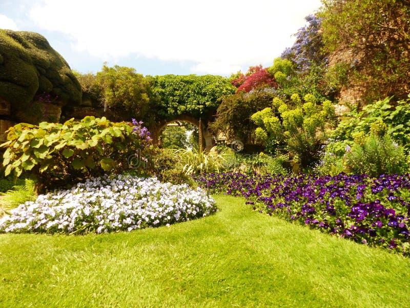 Jardins de Kent de l'Angleterre image stock