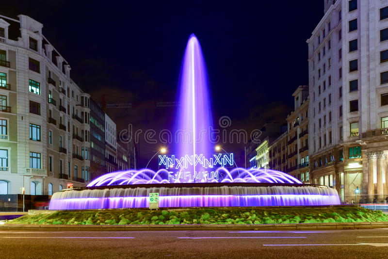 Jardins de la Reina Victoria - Barcelona royaltyfri foto