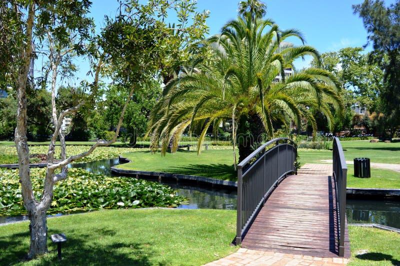Jardins de la Reine, Perth, Australie images libres de droits