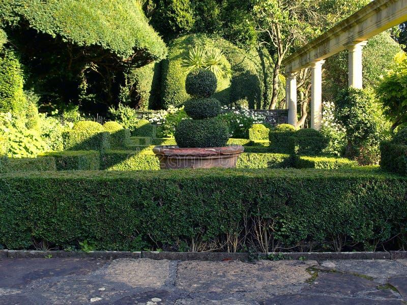 Jardins de la Renaissance photo libre de droits