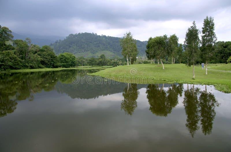 Jardins de lac Taiping photo stock