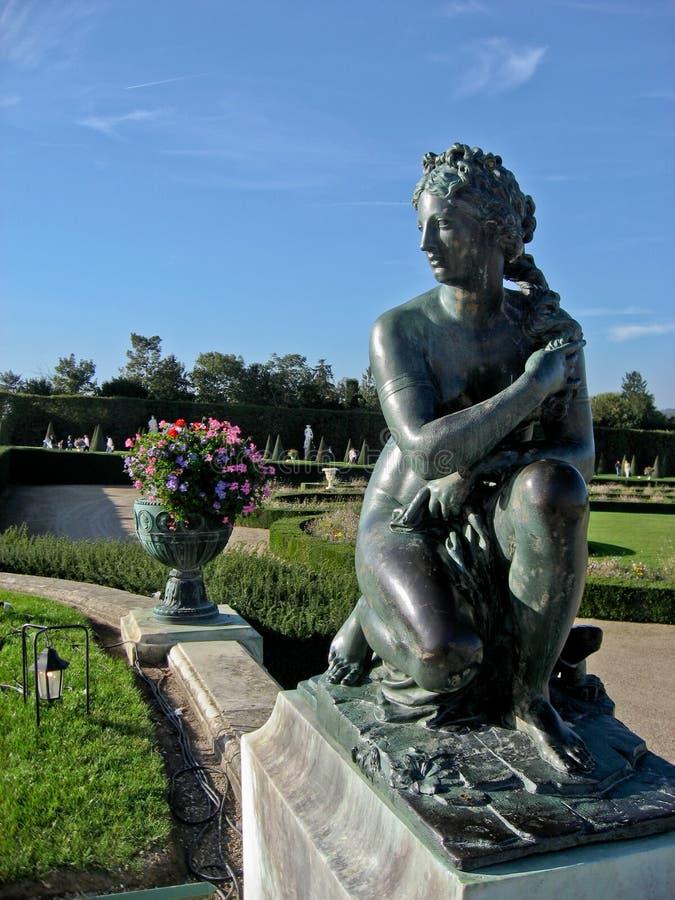 Jardins de Luxembourg em Paris imagens de stock