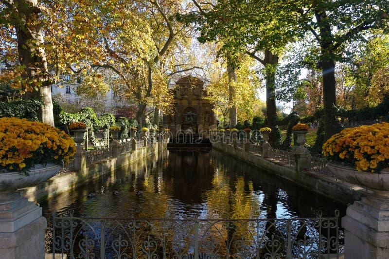 Jardins de Luxemburgo imagens de stock royalty free