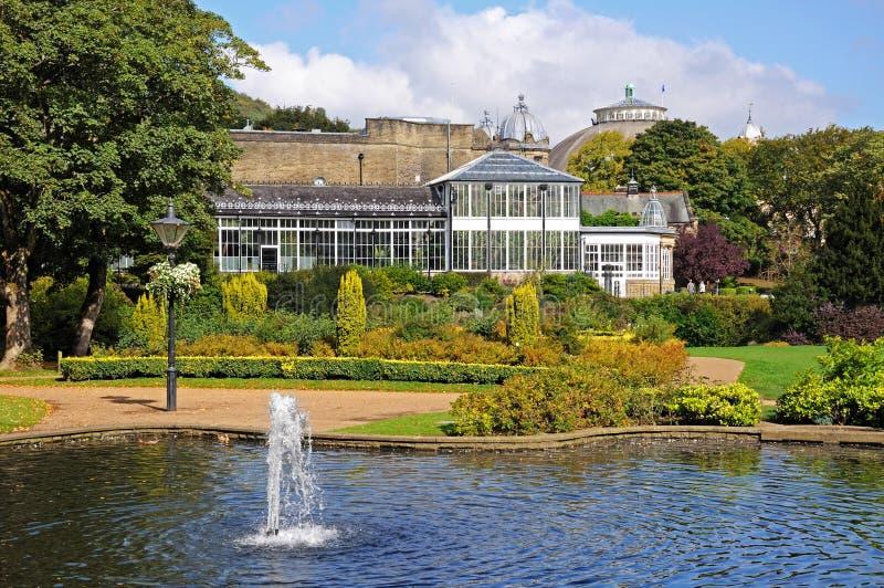Jardins de pavillon, Buxton photos libres de droits