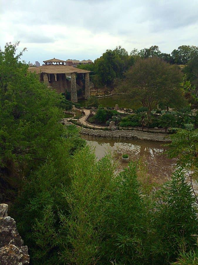 Jardins de réservoir de Paddington images libres de droits