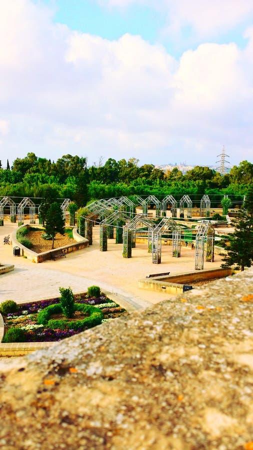 Jardins de Ta Qali photographie stock libre de droits