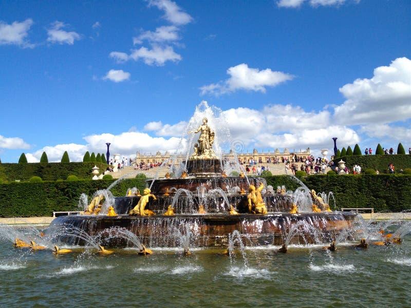 Jardins de Versaille fotos de stock royalty free