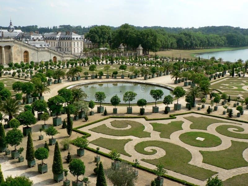 Jardins de Versalhes imagem de stock royalty free