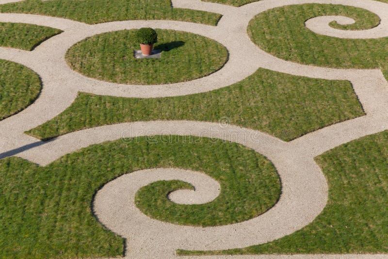 Jardins de Versalhes fotografia de stock