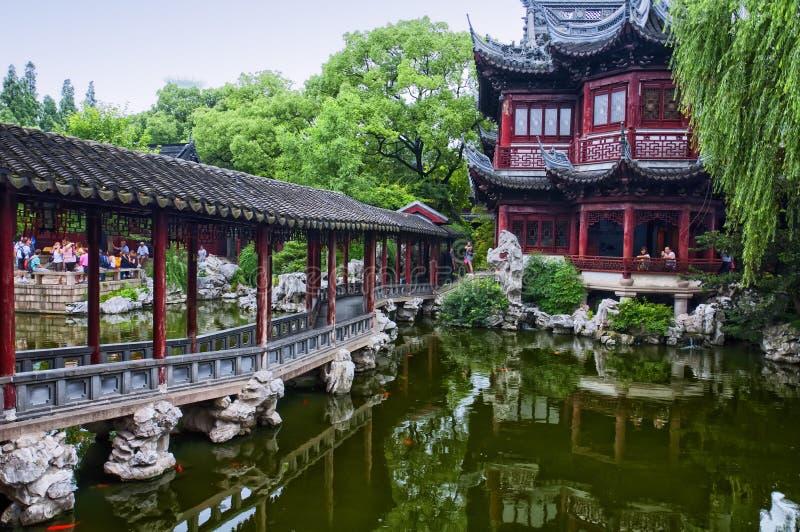 Jardins de Yuyuan photo stock