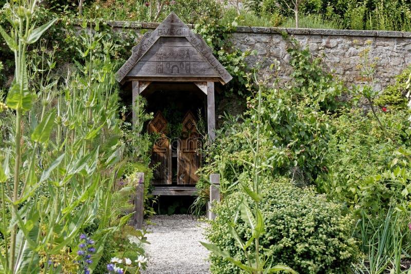 Jardins do palácio de Culross, Escócia imagens de stock royalty free