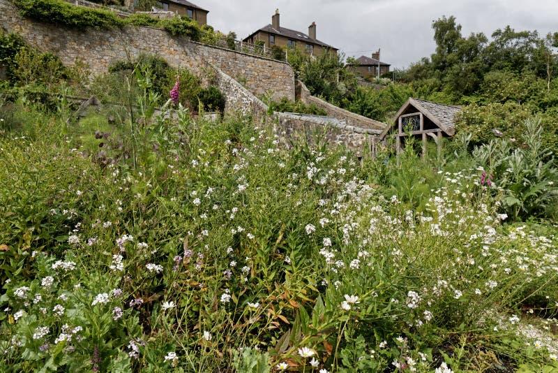 Jardins do palácio de Culross, Escócia imagem de stock royalty free
