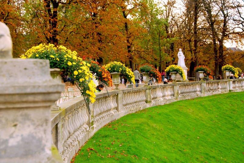 Jardins du Lussemburgo immagini stock libere da diritti