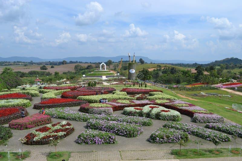 Jardins en Thaïlande images stock