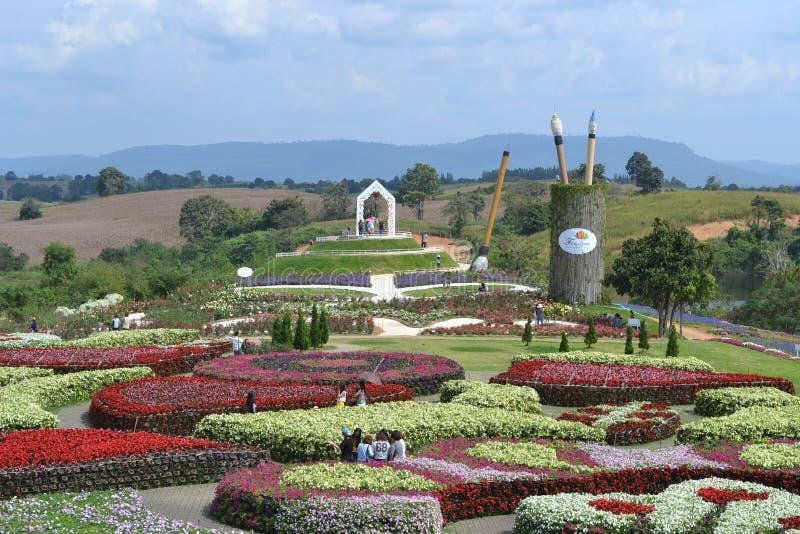 Jardins en Thaïlande images libres de droits